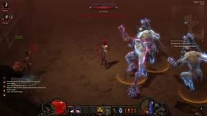 Diablo 3 - Komplettlösung : In Wortham greifen uns die dunkelen berseker an.