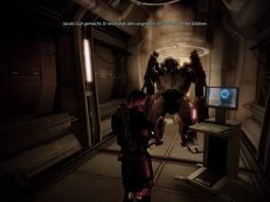 Mass Effect 2 : Hacken Sie vor dem Kampf besser diesen YMIR-Mech.