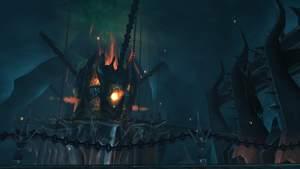World of Warcraft: Eiskronenzitadelle - Teil 1 : Der Blick auf die Architektur der Instanz ist ein Genuss. Lassen Sie sich nicht zu sehr davon ablenken.