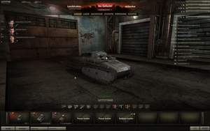 World of Tanks : Die Garage ist Ihr Startpunkt in der World of Tanks-Karriere.