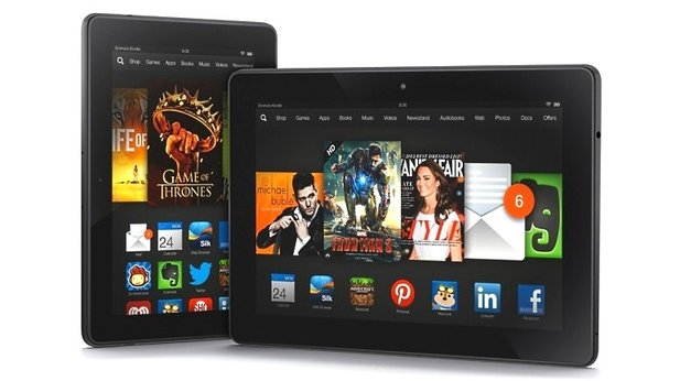 Die neuen Amazon Kindle Fire HDX bieten Live-Support per Video-Telefonie.