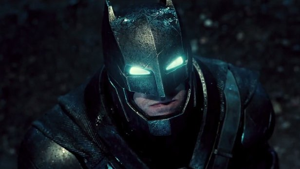 Ben Affleck in Batman vs. Superman: Dawn Of Justice.