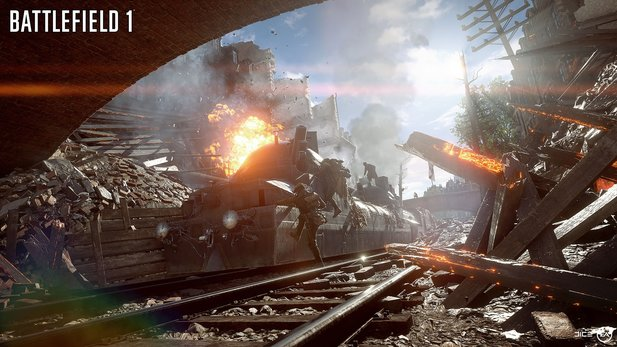 Battlefield 1 Map Amiens.