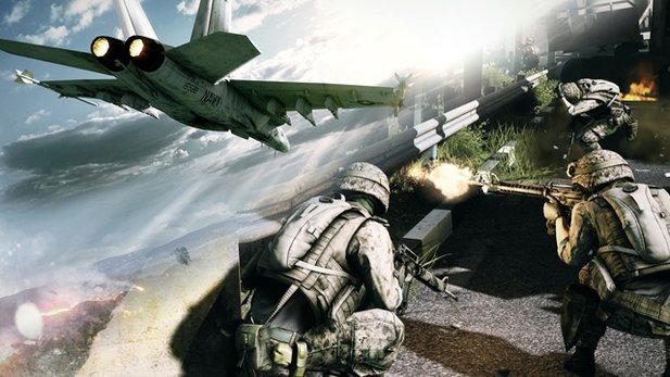 Battlefield 3 - Multiplayer auf Caspian Border