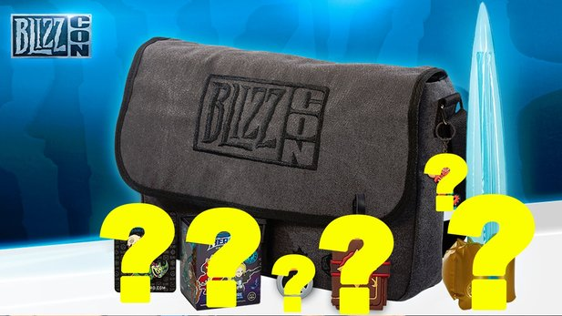 Blizzcon 2015 - Unboxing des Blizzcon Goodie Bags
