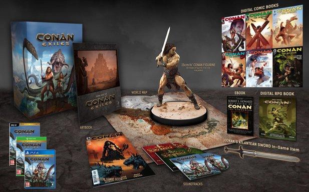 Conan Exiles: Retail-Fassung und Collector's Edition bestätigt - Trailer