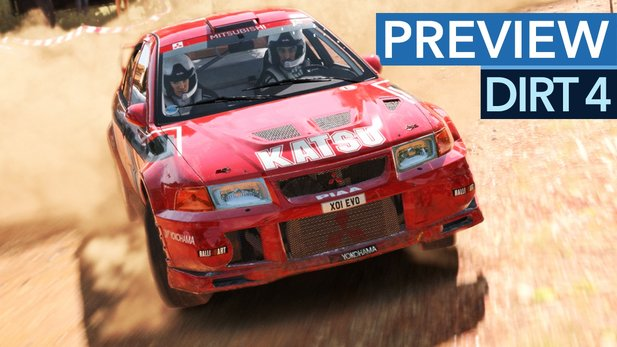 Dirt 4 - Codemasters' Dreckschleuder im Preview-Video