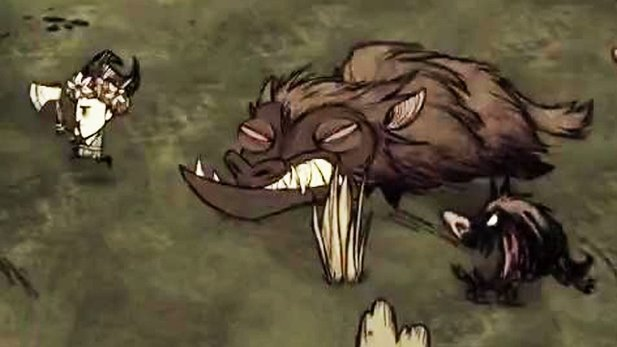 Don't Starve - Gameplay-Trailer aus dem DLC »Reign of Giants«