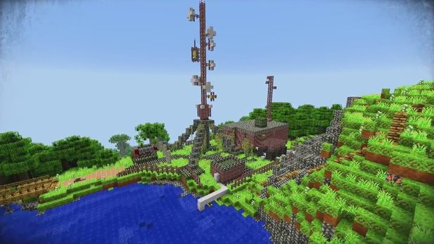 Far-Cry-3-Mod-Trailer von Minecraft