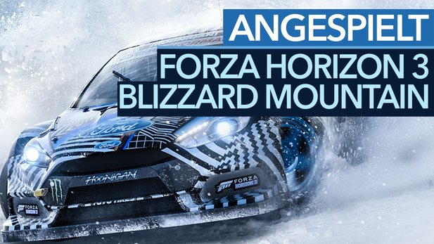 Forza Horizon 3 - Fazit-Video zum Winter-DLC Blizzard Mountain