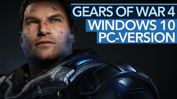 Gears of War 4 - So toll ist die Windows-10-PC-Version - Grafik-Optionen, Benchmark, Splitscreen-Koop & Play Anywhere