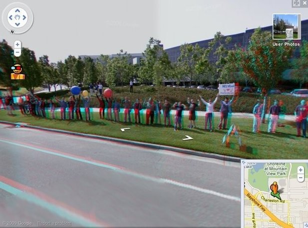 Google Street View in 3D :
