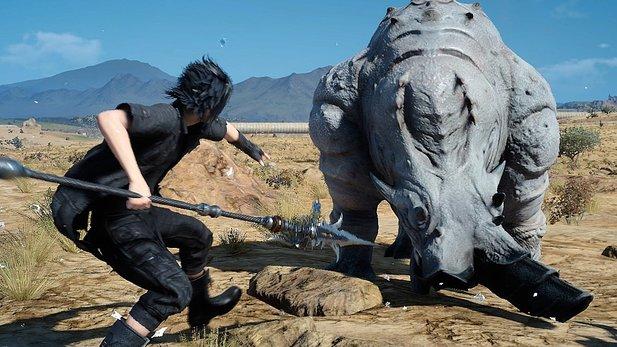 Final Fantasy XV: Neues Update liefert Aranea als Trainingspartner und mehr