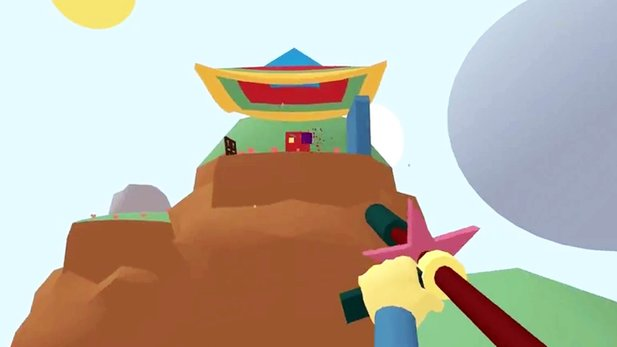 Lovely Planet - Gameplay-Trailer zum bunten Shooter