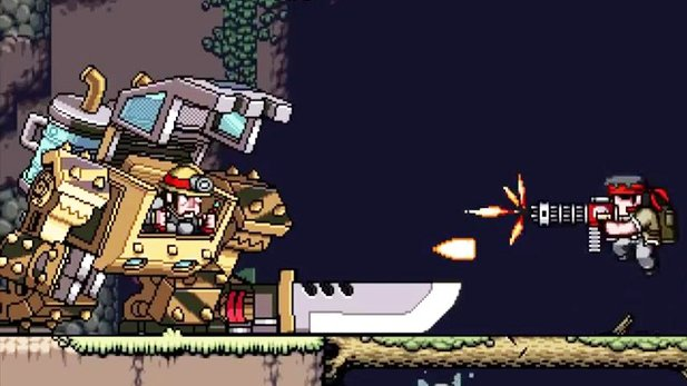 Mercenary Kings - Gameplay-Trailer zum Sidescroll-Shooter