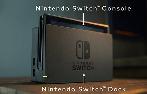 Die Docking-Station der Nintendo Switch