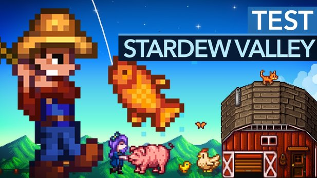Stardew Valley - Test-Video zum Bauernhof-Hit auf Steam