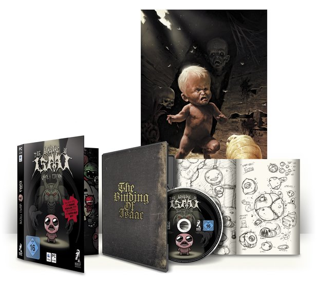 Die Unholy Edition von The Binding of Isaac.