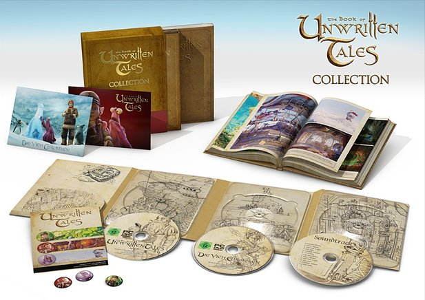 Am 6. Oktober erscheint das Adeventure The Book of Unwritten Tales: Die Vieh Chroniken, auch als Collector's Edition.