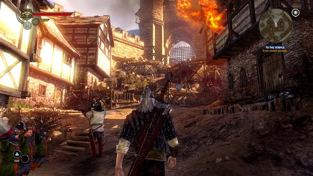 Der Digitalverkauf von The Witcher 2: Assassins of Kings läuft sehr gut.
