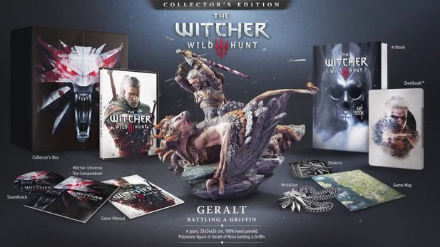 The Witcher 3: Wild Hunt - Unboxing-Video zur Collector's Edition