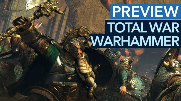 Total War: Warhammer - Preview-Video zum Fantasy-Total-War