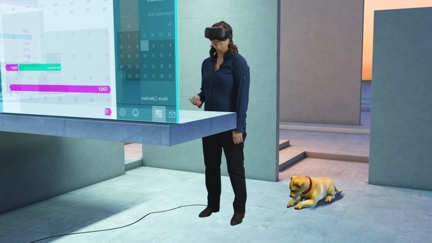 Windows 10 Holographic VR hat relativ geringe Mindestanforderungen.