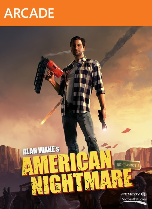 Cover zu Alan Wake's American Nightmare