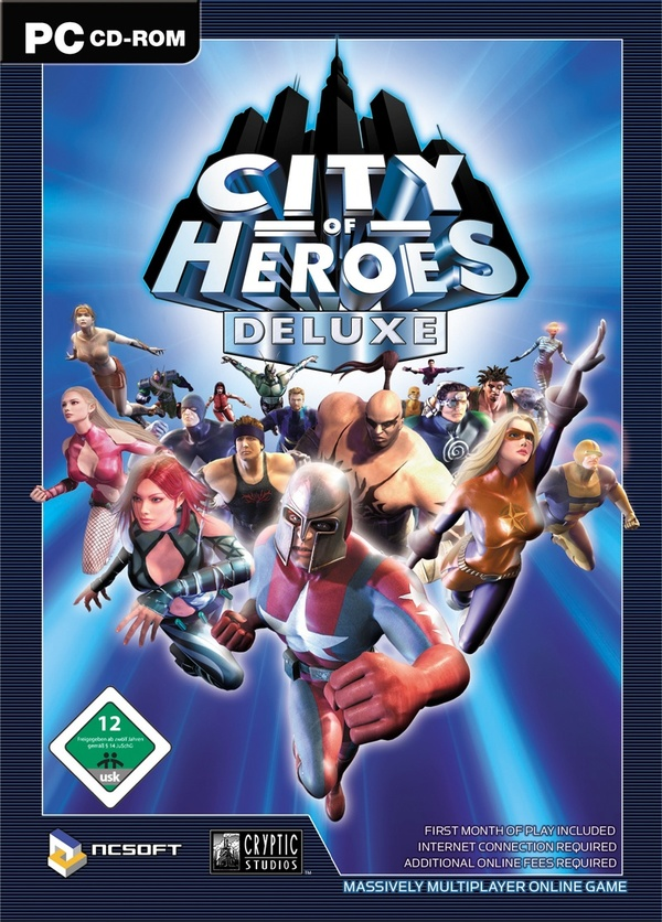 Cover zu City of Heroes