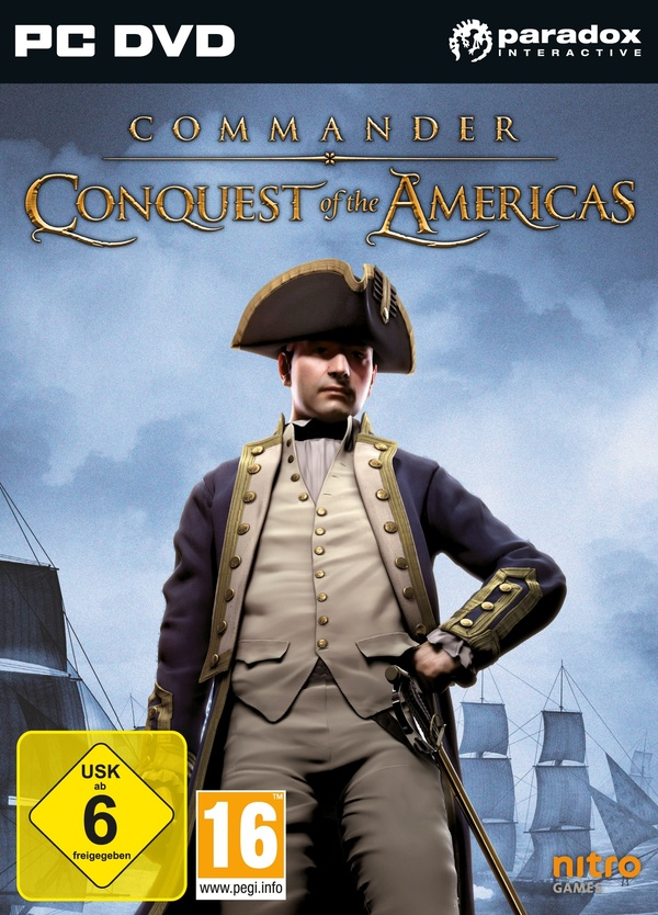 Cover zu Commander: Conquest of the Americas