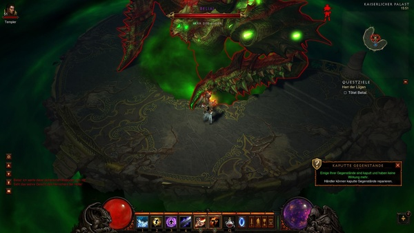Diablo 3 - Komplettlösung : Belial Phase 3