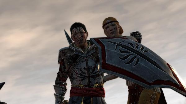 Dragon Age 2 : Aveline und ihr Ehemann Wesley brauchen Hilfe.