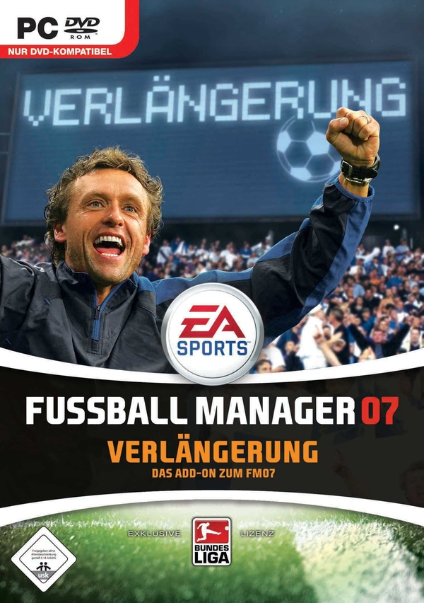 fussball manager 07 verl ngerung pc spiele cover gamestar. Black Bedroom Furniture Sets. Home Design Ideas