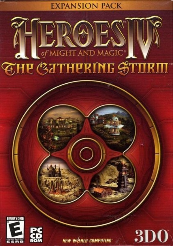 Cover zu Heroes of Might & Magic 4: The Gathering Storm