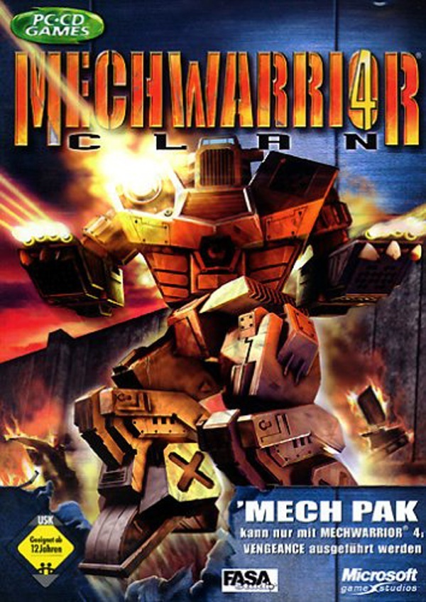 Cover zu MechWarrior 4: Clan Mech Pack