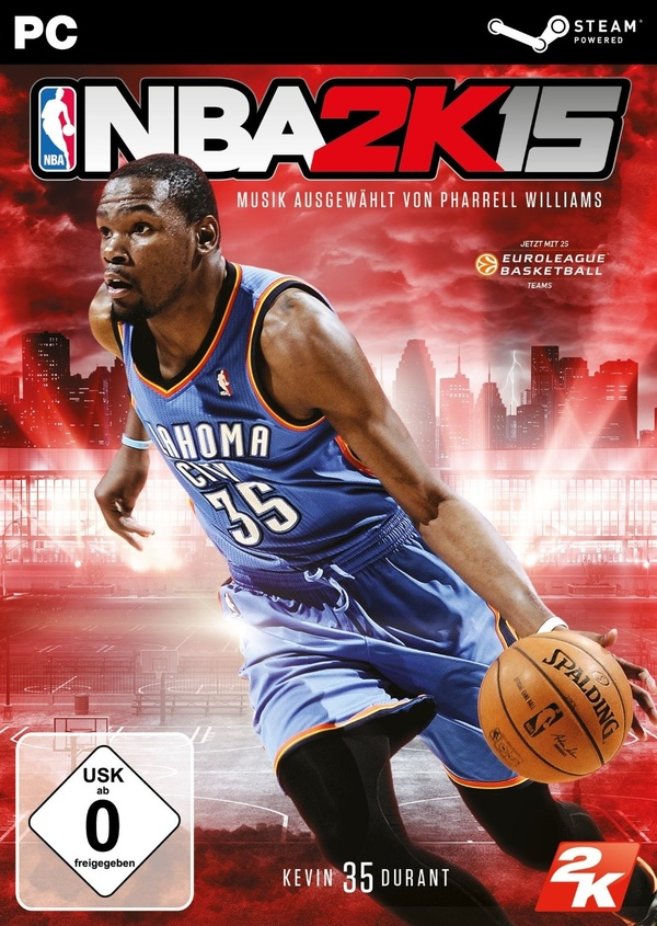 Cover zu NBA 2K15