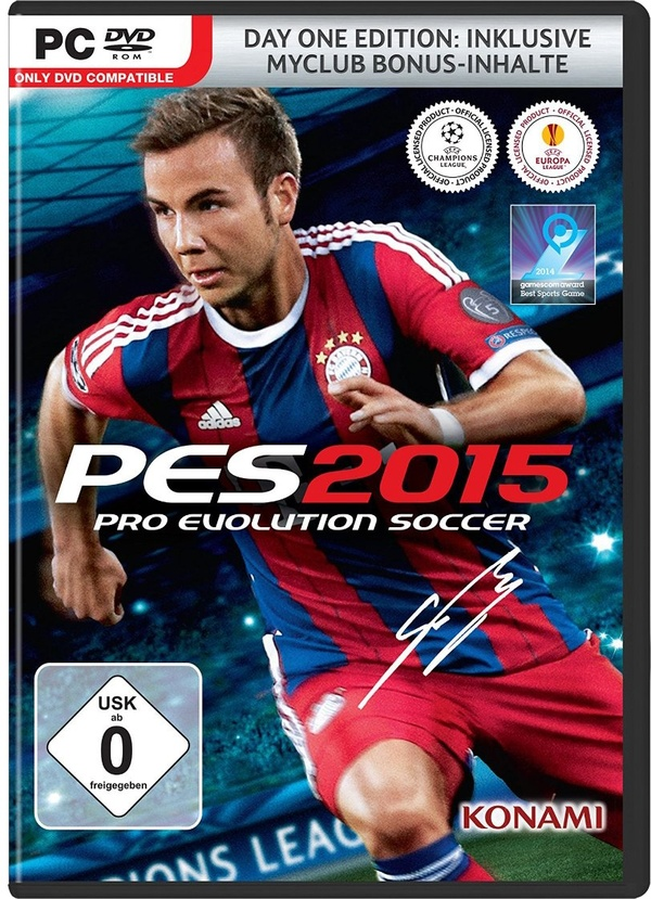 Cover zu Pro Evolution Soccer 2015