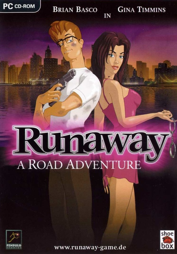 Cover zu Runaway: A Road Adventure