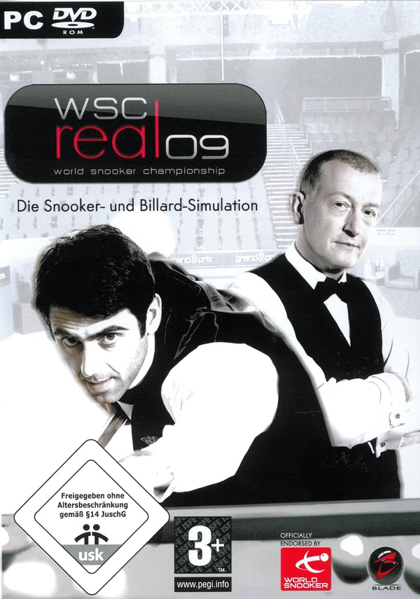 Cover zu World Snooker Championship Real 2009