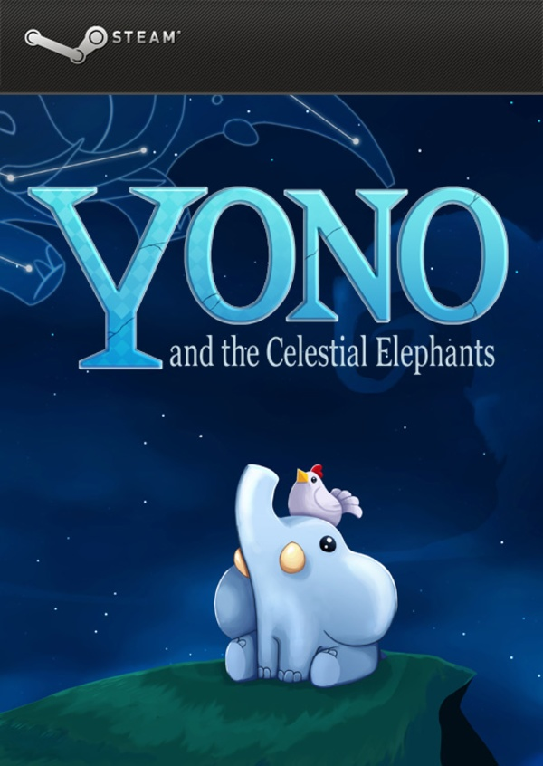 Cover zu Yono and the Celestial Elephants