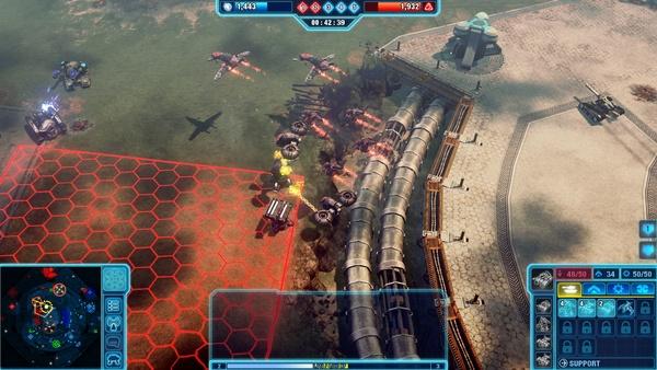 Screenshot zu Command & Conquer 4 - Technik-Check: Grafikeinstellungen im Vergleich
