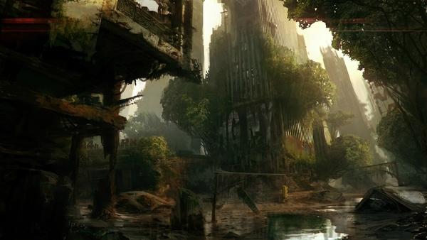 Screenshot zu Crysis 3 - Artworks und Konzeptzeichnungen