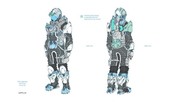 Screenshot zu Dead Space 3 - Artworks und Konzeptzeichnungen