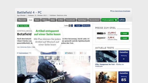 Bild der Galerie Fair Play mit GameStar Plus - Einfach mehr bekommen auf GameStar.de