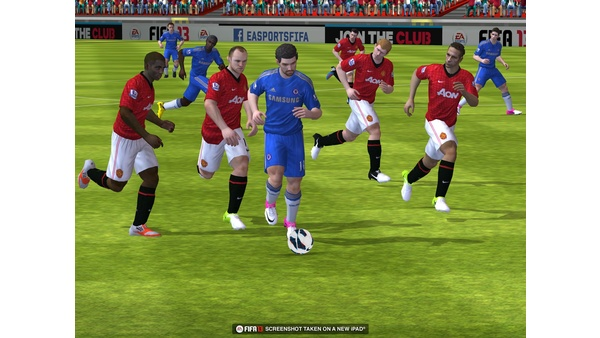 Bild der Galerie FIFA 13 - Screenshots der iOS-Version