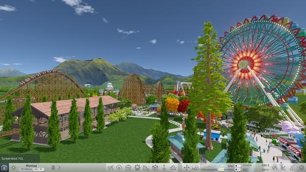 Screenshot zu RollerCoaster Tycoon World - Screenshots
