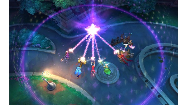 Screenshot zu League of Legends - Screenshots aus dem PvE-Koop-Modus »Invasion«