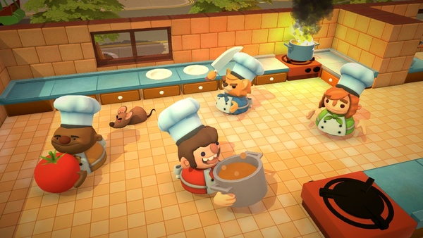Screenshot zu Overcooked - Screenshots