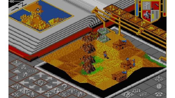 Bild der Galerie Geoforming in Populous 1989 - Screenshots