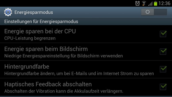 Bilder zu Samsung Galaxy S3 - Screenshots